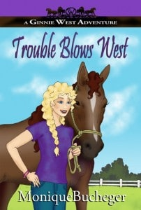 Trouble Blows West - cover