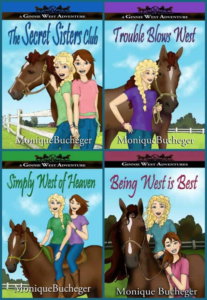 Ginnie West Adventures - collage