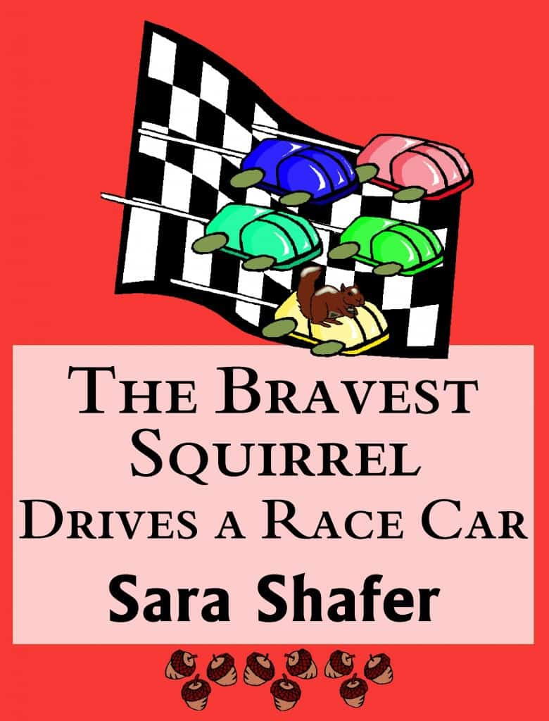 The Bravest Squirrel Drives a Race Car by Sara Shafer