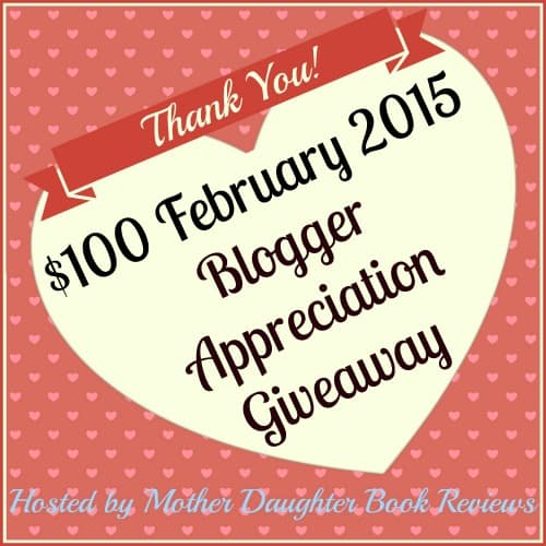 100 February Blogger Appreciation Giveaway 2015