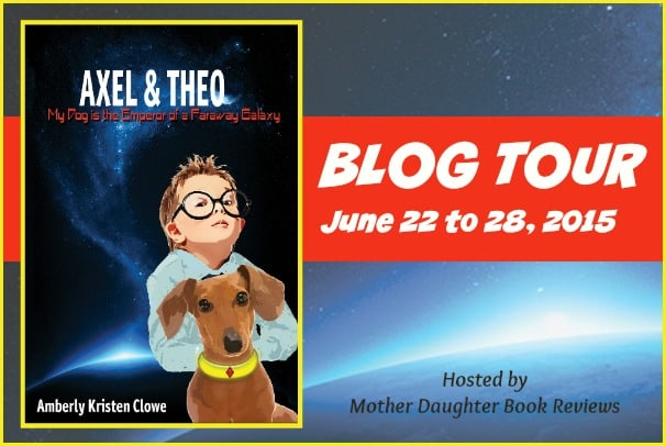 Axel and Theo - Blog Tour Button