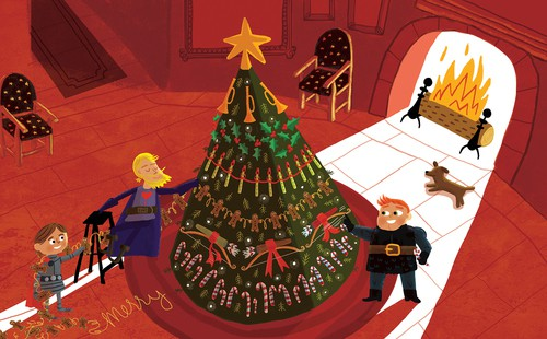 The Knights Before Christmas Joan Holub Scott Magoon page 26 image