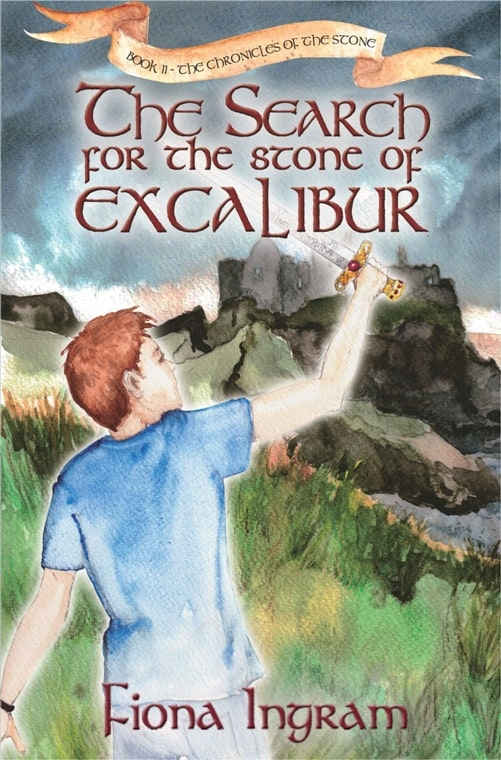 The Search for the Stone of Excalibur - cover