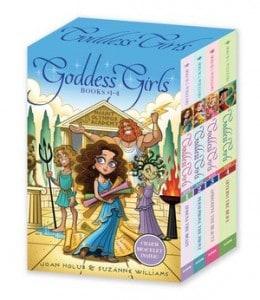 Goddess Girls boxed set books 1-4 Holub Williams