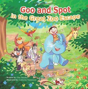 Goo and Spot in the Great Zoo Escape