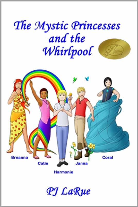 The Mystic Princesses and the Whirlpool Cover