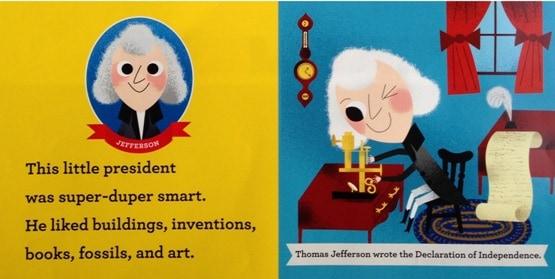 This Little President Joan Holub - Inside Page B