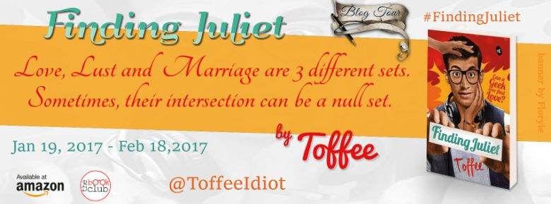 Finding Juliet by Toffee_Banner