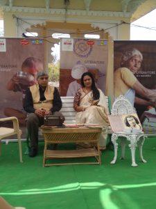 Prof. Dinesh Singh with Sumita Pant