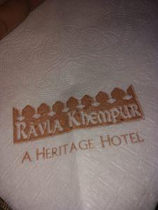 Ravla Khempur A Heritage Hotel