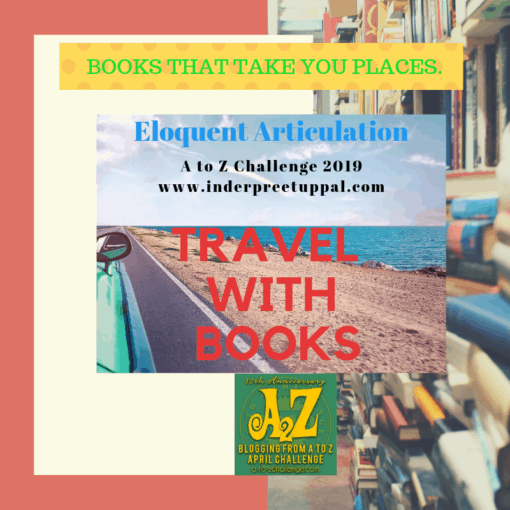 Banner for A to Z Challenge  Travel with Books