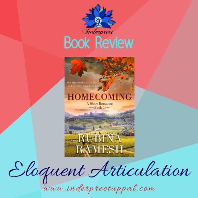 Angsty Love HOMECOMING ~ A Short Romance By Rubina Ramesh